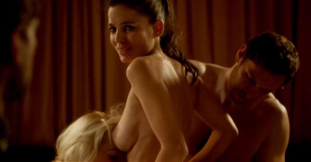 Elena Anaya And Allison McKenzie Hot Threesome Sex In Swung Movie