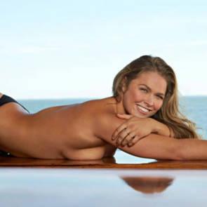 Ronda Rousey Beach
