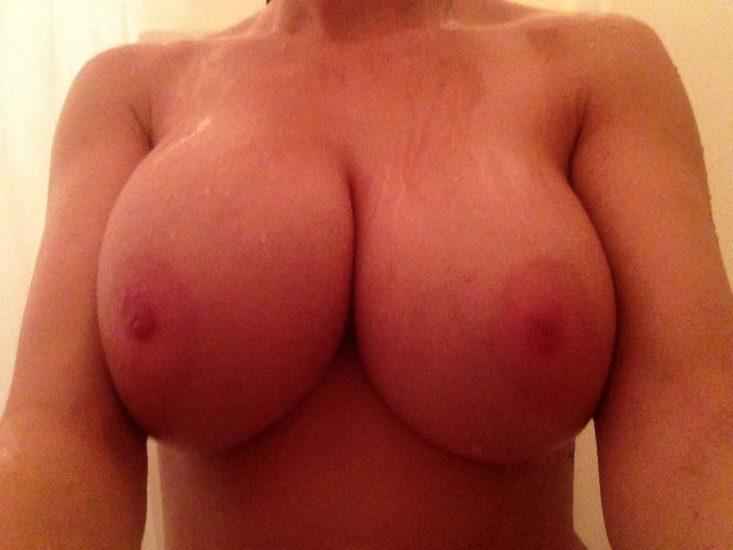 cum on large boobs