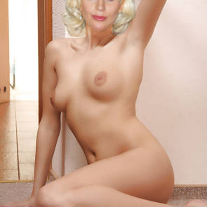 lady gaga on the floor nude