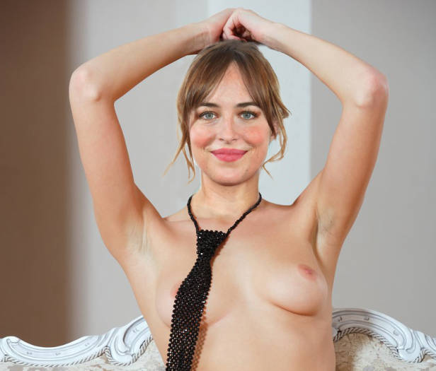 Dakota Johnson featured tits