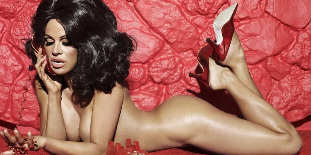 Pamela Anderson Nude Lying