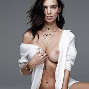Emily Ratajkowski Naked Boobs Photo Shoot For Jacquie Aiche