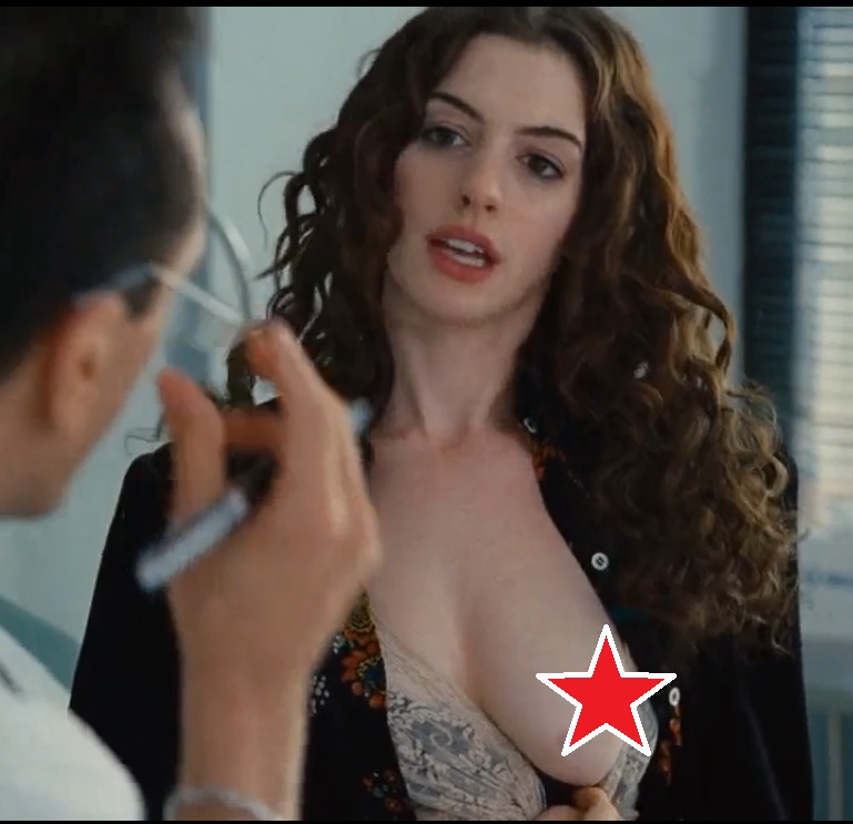 anne hathaway nude in movie