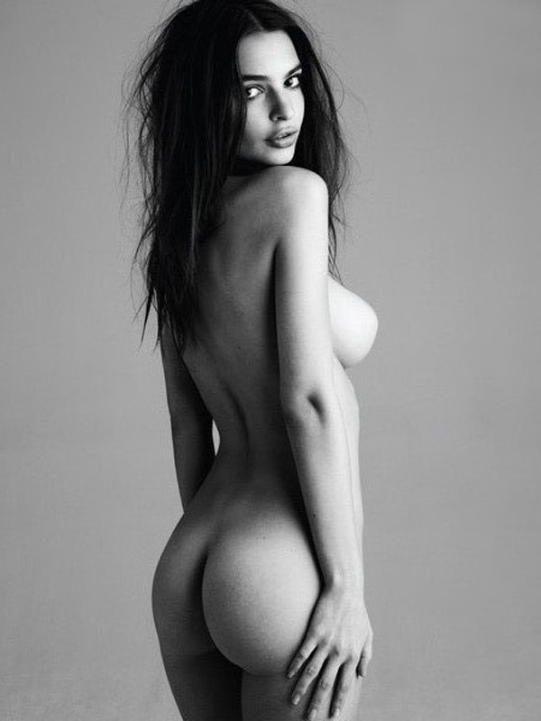emily ratajkowski from behind showing ass and tit picking