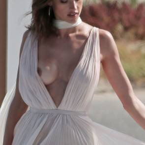 alessandra ambrosio boob slip in perfume commercial