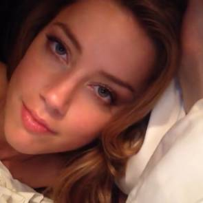 Amber Heard preview pic of nude video