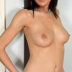 Joyce DeWitt nude by the wall