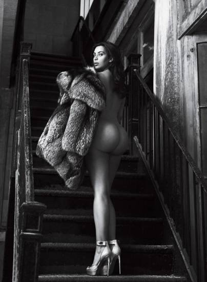 kim kardashian nude photo shoot for magazine   10 pics