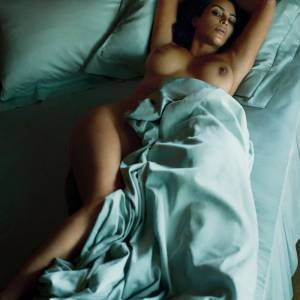 Kim Kardashian Nude Photo Shoot For Magazine