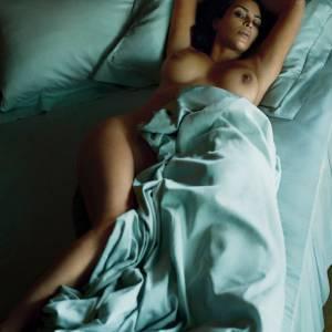 Kim Kardashian Nude Photo Shoot For Magazine