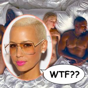 Amber Rose Reacts To Kanye West Music Video
