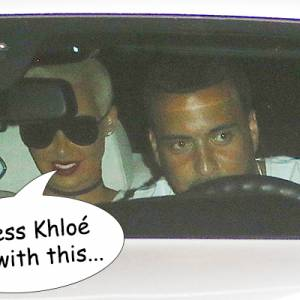 Amber Rose Spotted With Khloé Kardashian's Ex French Montana