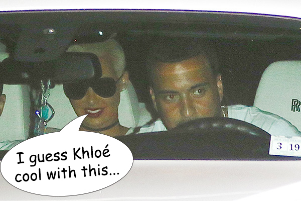 Amber Rose With Khloe Kardashian's ex French Montana Close Up