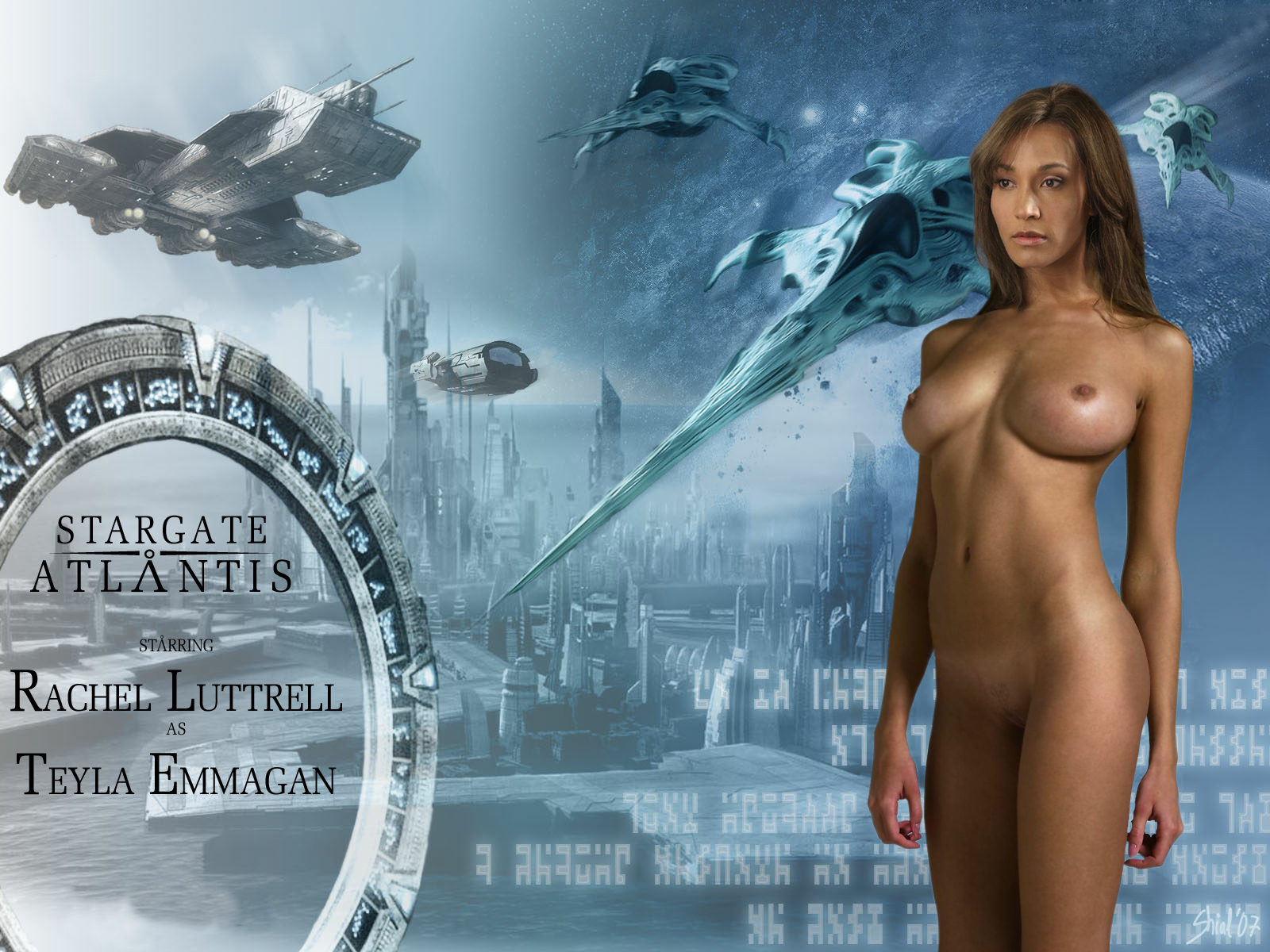 For Stargate atlantis nude speaking, opinion