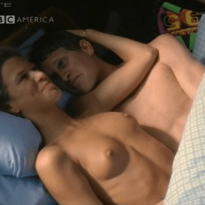 "Rhona Mitra Topless In ""The Man Who Made Husbands Jealous"""