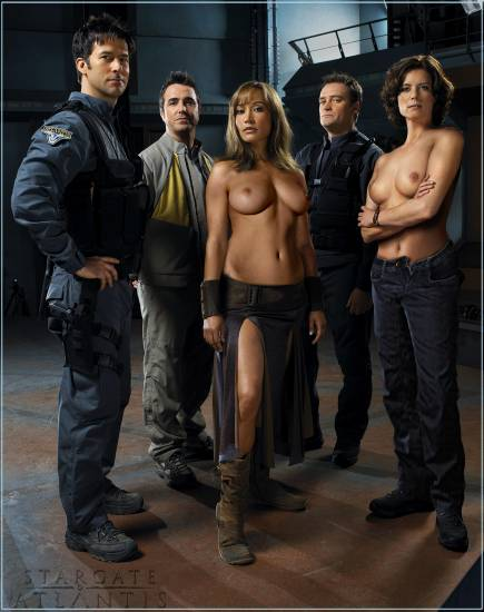 Consider, that big boobs of stargate final, sorry