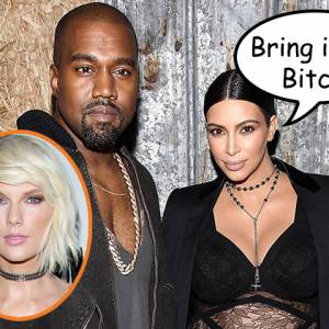 Kim Kardashian & Kanye West Being Sued By Taylor Swift?