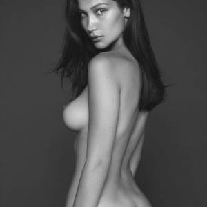 Bella Hadid Topless For Vogue Magazine