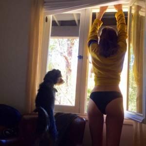 Dakota Johnson Posts Hot Underwear Instagram Photo