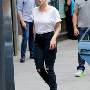 Lady Gaga White T-shirt