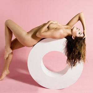 Lea Michele Nude In Women's Health