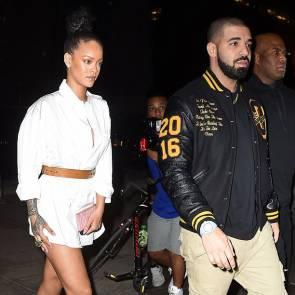 Rihanna And Drake Date Night After MTV VMA