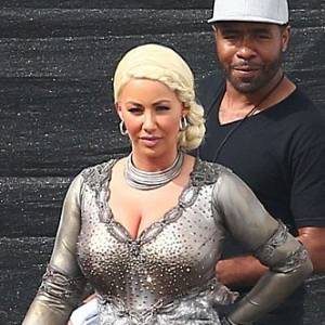 Amber Rose As Khaleesi In Dancing With Stars Show