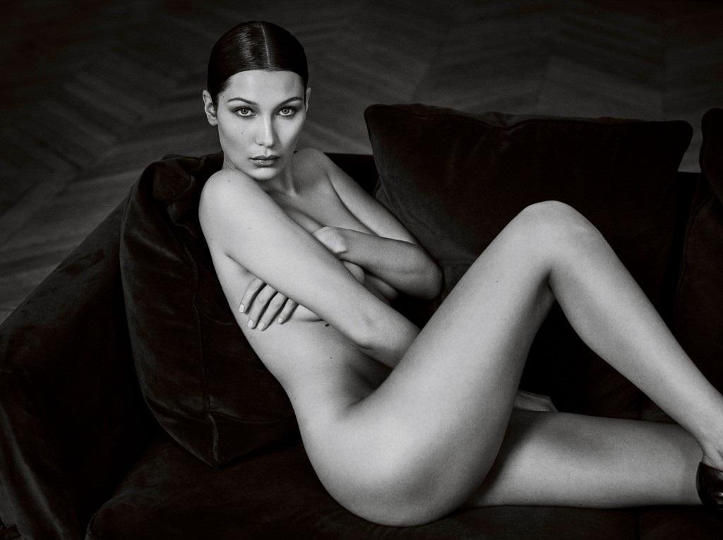 Bella hadid naked tits