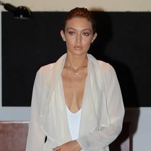 Gigi Hadid HOT Cleavage