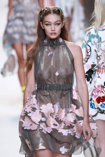 Gigi Hadid on Fashion Week Milan