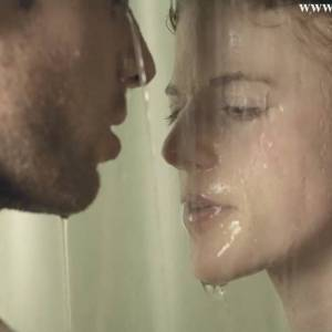Rose Leslie Nude Under The Shower From Honeymoon Movie