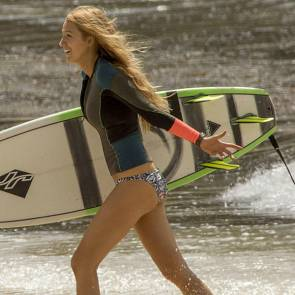 blake lively carrying surfer board