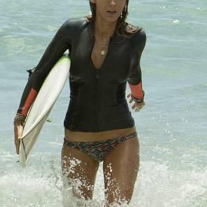 blake lively splashing the waves