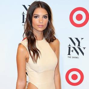emily ratajkowski cut out dress