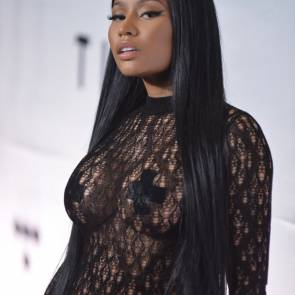 Nicki Minaj Nipples Taped
