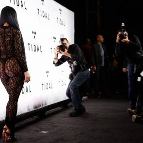 Nicki Minaj big ass from behind on Tidal concert