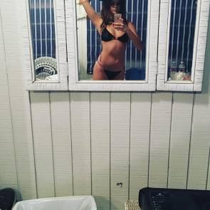 Selena Gomez Bikini Mirror Selfie