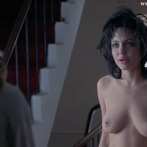 angelina jolie naked nude gia movie scene