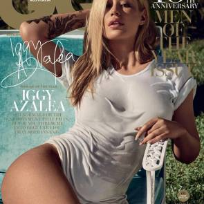 Iggy Azalea On Cover Of GQ Magazine