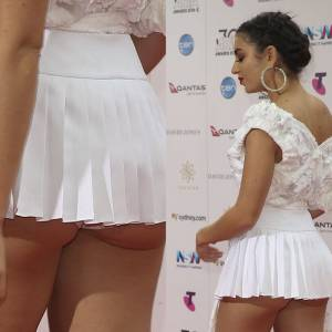 Charli XCX Ass Cheeks On ARIA Awards