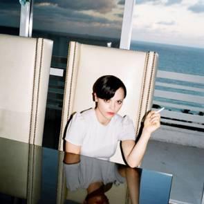 christina ricci sexy at the table smoking cigar