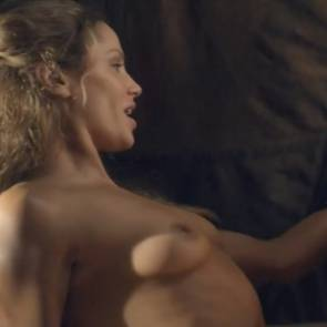 Ellen Hollman Nude Sex Scene In Spartacus Series