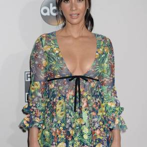 olivia munn nipples on 2016 American Music Awards