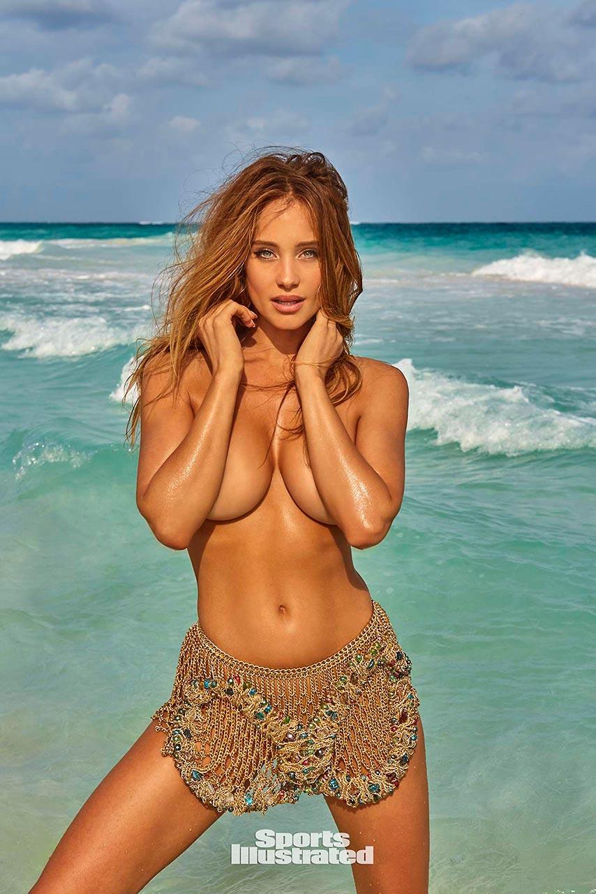Hannah Davis Topless Photos