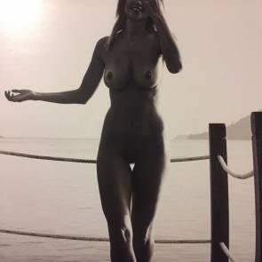 Genevieve Morton pussy for the calendar