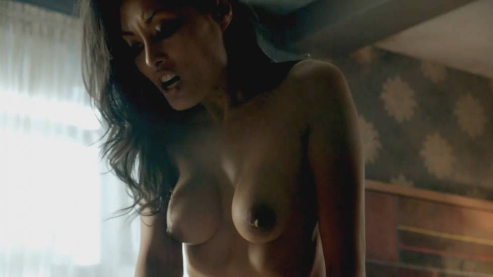 Kira Clavell Nude Sex Scene In Rogue Series
