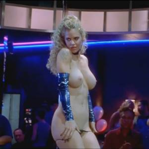 Kristin Bauer Nude Scene In Dancing At The Blue Iguana Movie