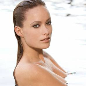 Olivia Wilde naked in water