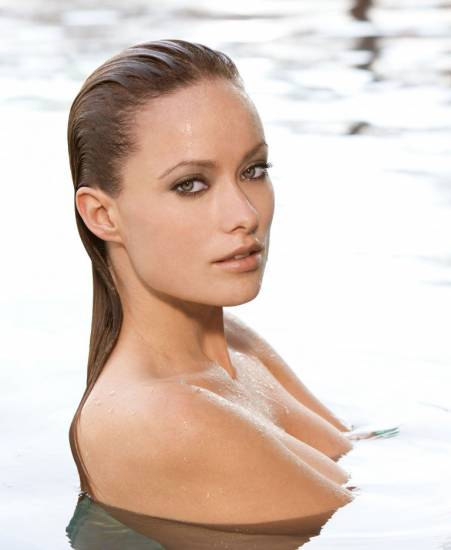 Olivia Wilde naked in water